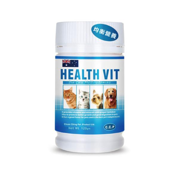 【C.C.P】綜合維他命120g/HEALTHVIT
