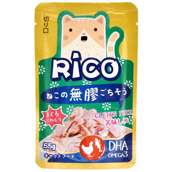 4713616703529(E)RICO無膠鮮餐包-鮪魚雞肉85g