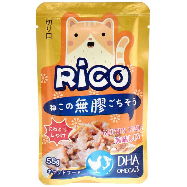 4713616703536(E)RICO無膠鮮餐包-雞肉鮭魚85g