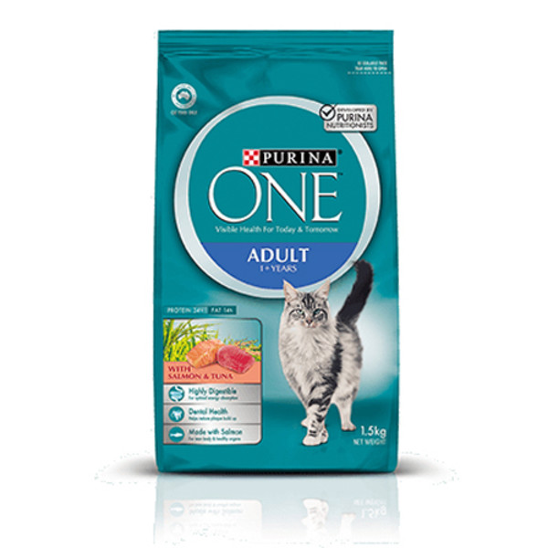 9300605102439(E)ONECAT頂級成貓鮭魚鮪魚雙拼1.5kg