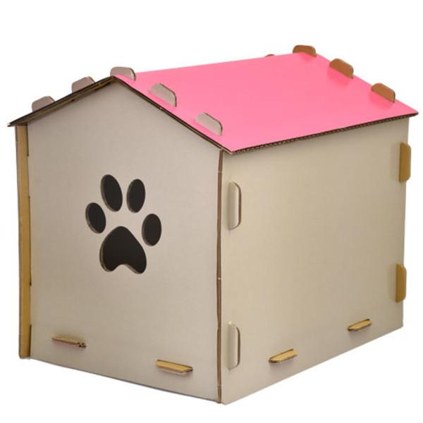 2302089006149(E)台灣製造幸福貓屋-粉色
