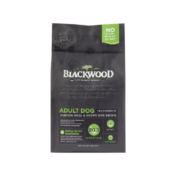 【BLACKWOOD 柏萊富】(犬)低卡保健(雞肉+糙米)(5lb/15lb)