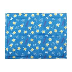 寵物冰晶軟Q降溫墊 30*40cm (藍黃\\\\粉綠) 4713309512193