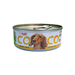 CoCo機能狗(鮮嫩雞肉+起司)80g-罐(24/箱) 4719865822400