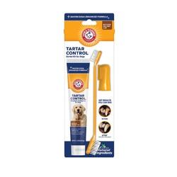 742797734088ARM & HAMMER 犬用3合1潔牙套組(除垢)