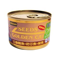 【 惜時SEEDS】GOLD CAT特級金貓大罐(鮪魚+吻仔魚+柴魚)170g-罐