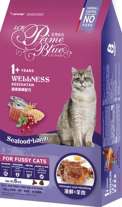 藍帶廚坊(貓)健康挑嘴貓海鮮羊肉1.2kg 4712013805850