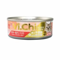 4711942132990維齊化毛-鮪魚+雞肉+牛肉80g-罐(24/箱)