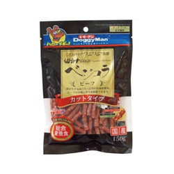 4976555820928DM犬用金牌短切野菜牛肉條150g