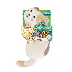 4976555878462Doggyman貓用溫馨舒適造型枕-牛奶喵