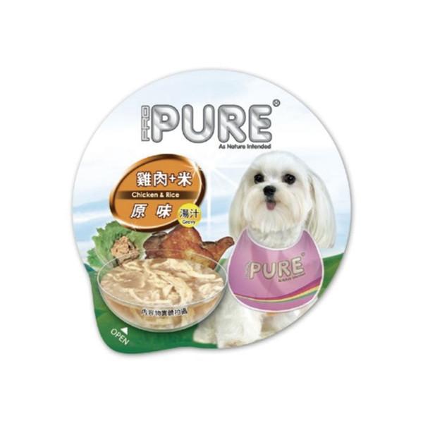 4717347000636PURE(犬)巧鮮杯雞肉+米80g-杯(24/箱)