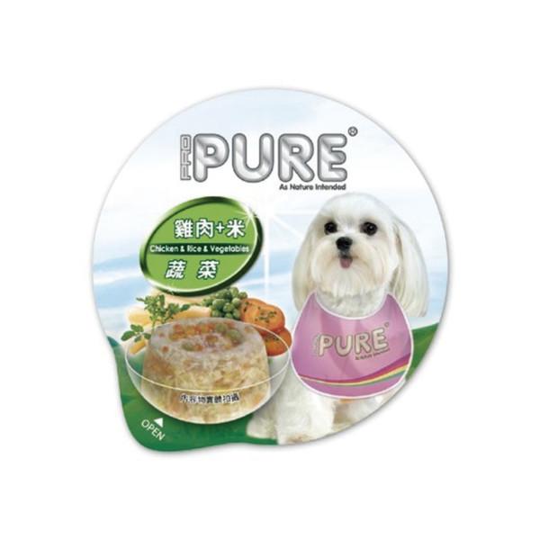 4717347000667PURE(犬)巧鮮杯雞肉+米+蔬菜80g-杯(24/箱)