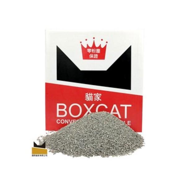 【國際貓家 BOXCAT】紅標頂級無塵貓砂24lb
