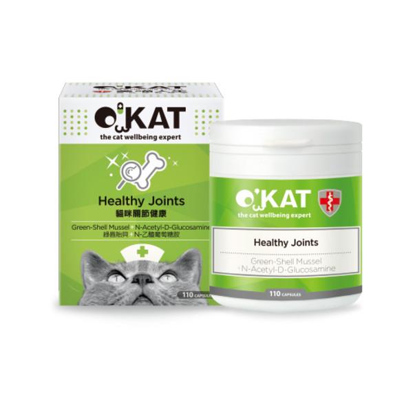 O'KAT美喵人生貓咪關節健康 (110顆入)4712364301490