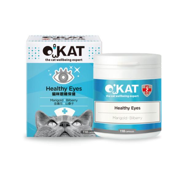 O'KAT美喵人生貓咪眼睛保健 (110顆入) 4712364301452