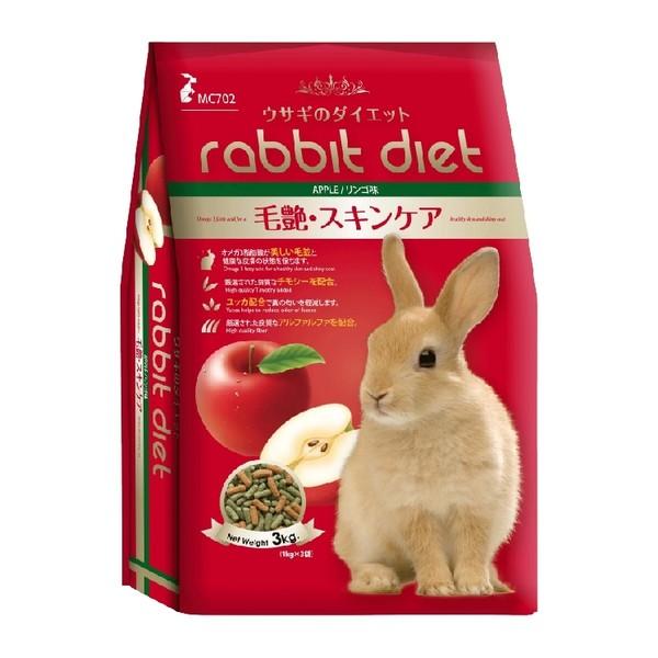 8850477757035MC702 蘋果口味愛兔高纖美味餐 3kg