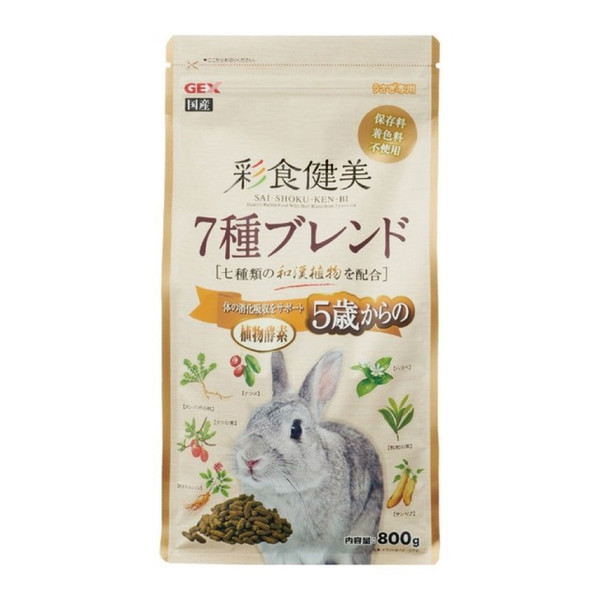 【GEX】彩食健美5歲以上老兔配方
