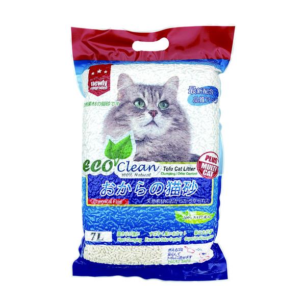 【Eco 艾可】艾可環保豆貓砂7L