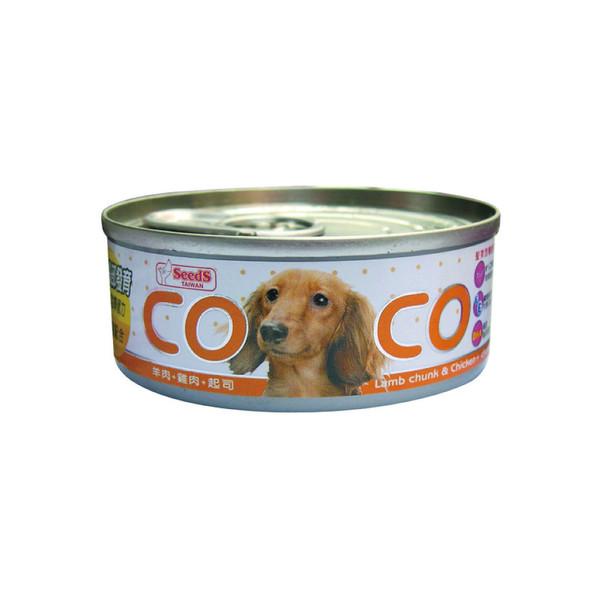CoCo機能狗(羊肉+雞肉+起司)80g-罐(24/箱) 4719865822332