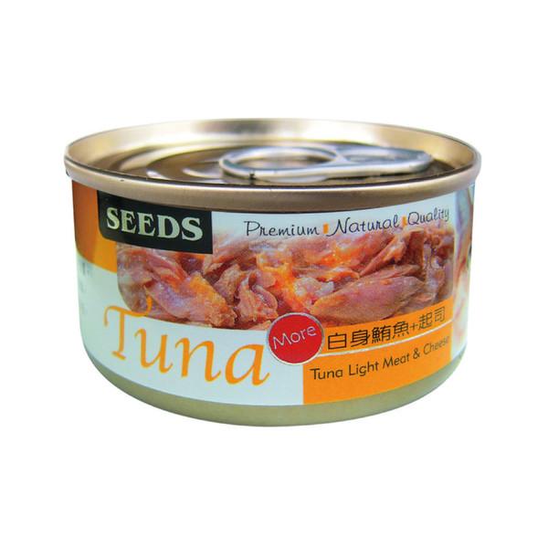 【 惜時SEEDS】TUNA愛貓天然食罐70g-共5種口味