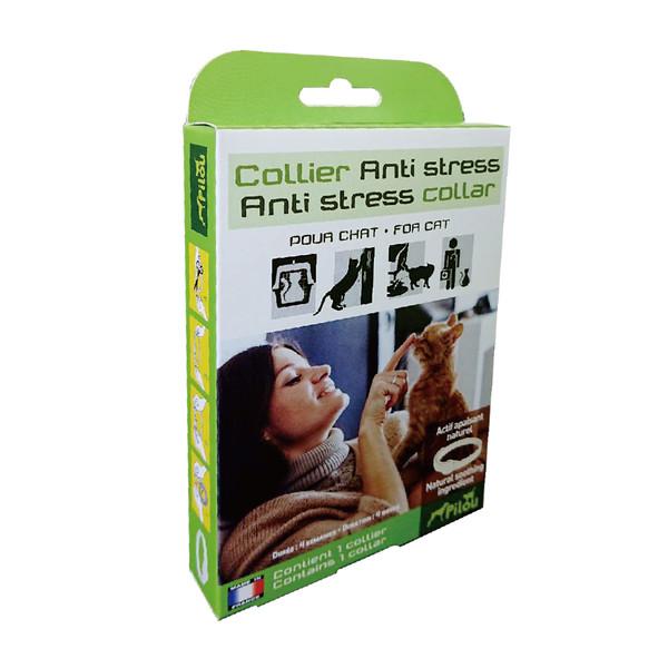 【法國皮樂Pilou】天然草本情緒安撫項圈貓用35cm