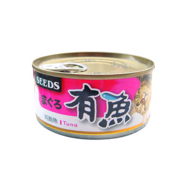 【惜時SEEDS】有魚貓餐罐(鮪魚)170g-(共5種口味)