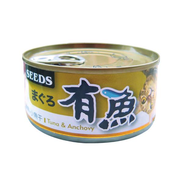 有魚貓餐-鮪魚+小魚干170g-罐(48/箱) 4719865826583