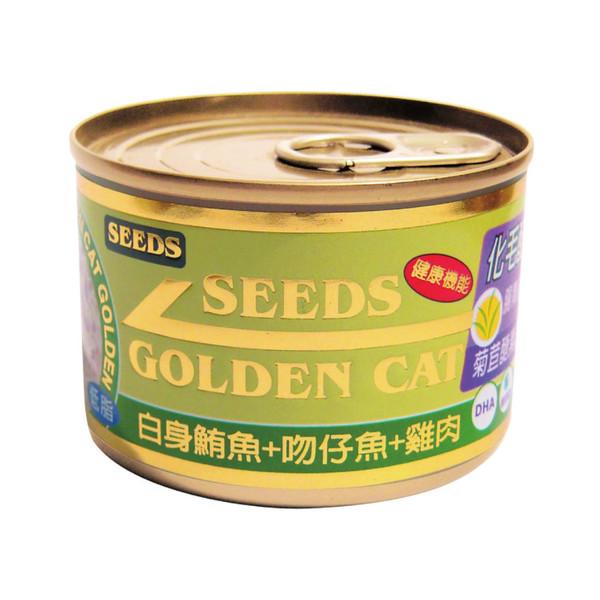 4719865824404特級金貓大罐(鮪魚+吻仔魚+雞肉)170g-罐(24/箱)