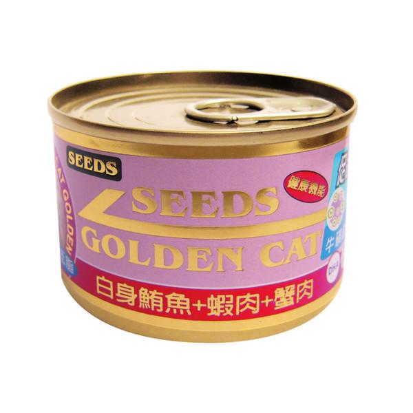 4719865824428特級金貓大罐(鮪魚+蝦肉+蟹肉)170g-罐(24/箱)