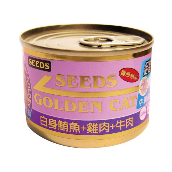 4719865824381特級金貓大罐(鮪魚+雞肉+牛肉)170g-罐(24/箱)