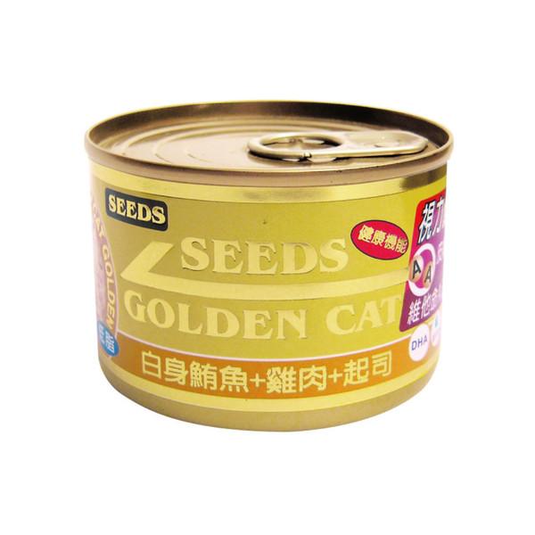 4719865824398特級金貓大罐(鮪魚+雞肉+起司)170g-罐(24/箱)