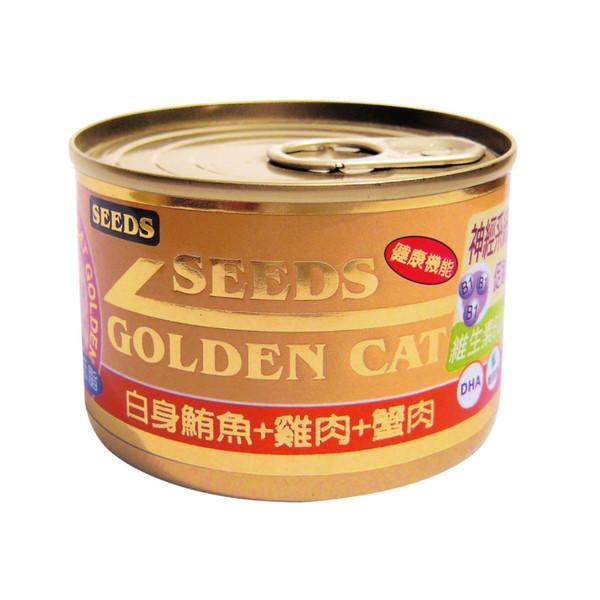 4719865824411特級金貓大罐(鮪魚+雞肉+蟹肉)170g-罐(24/箱)