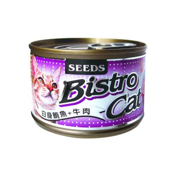 4719865826842特級銀貓大罐白身鮪魚+牛肉160g-罐(24/箱)