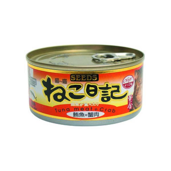 4719865821540喵喵日記-鮪魚+蟹肉170g-罐(48/箱)
