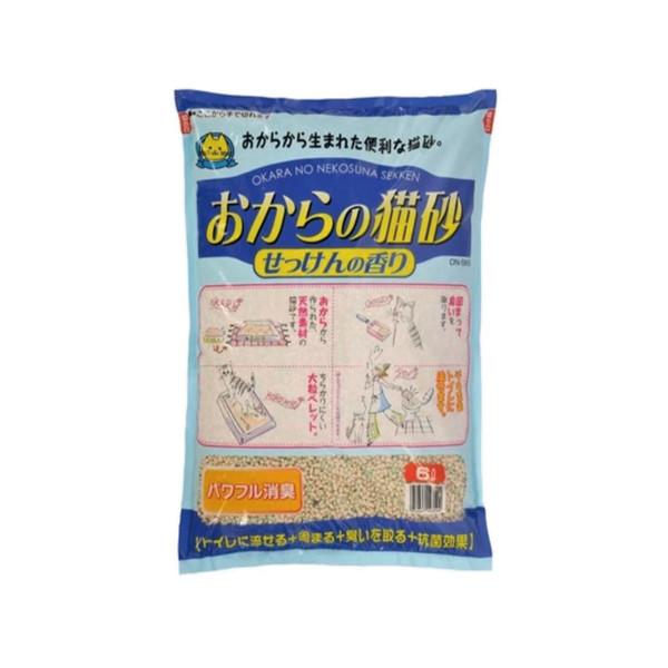 4952667143544日本OKARA清新皂香豆腐砂6L ON-SK6