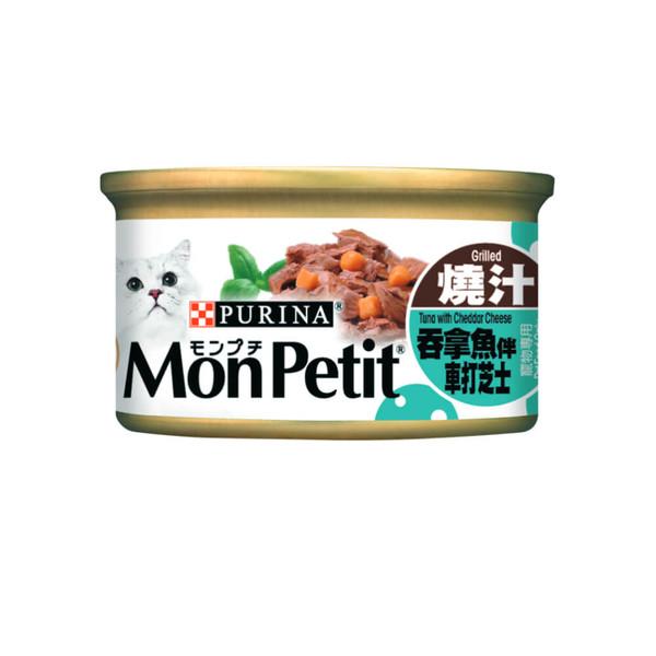 4891118021621貓倍麗(貓)主食罐-香烤鮮鮪拌巧達起司85g