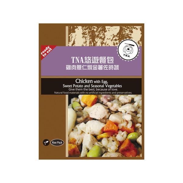 【短效買一送一】104雞肉薏仁燉金薯佐時蔬(150g)