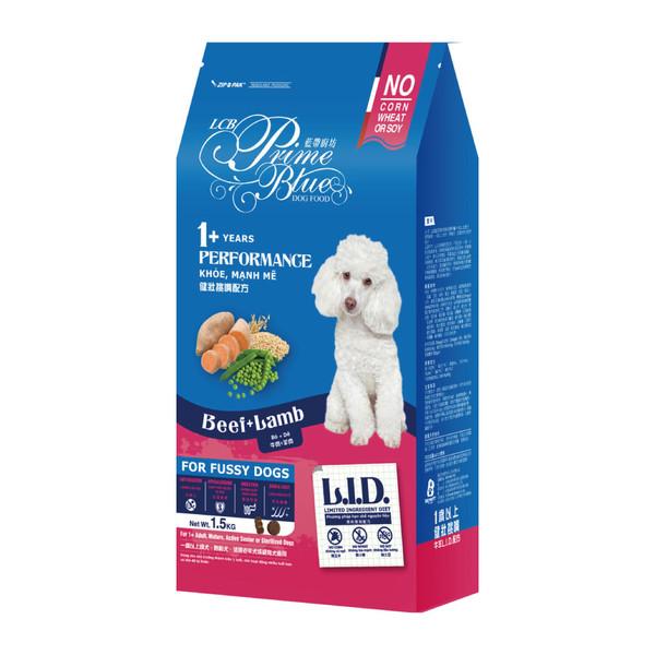 藍帶廚坊(犬)健壯挑嘴狗牛羊1.5kg 4712013806611