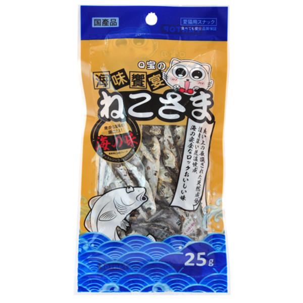 【PANTOP邦比】海味饗宴-低鹽小魚乾25g