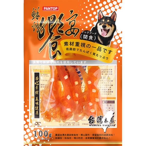 4712257323851鮮雞饗宴煙燻軟奶酪雞肉絲(100g)