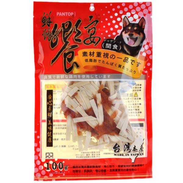 4712257324131鮮雞饗宴雞小胸肉卷鱈魚絲(100g)