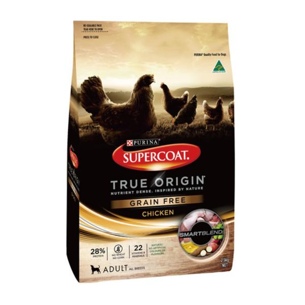 【SuperCoat斯博康】True Origin無穀成犬雞肉配方2.5kg/7kg