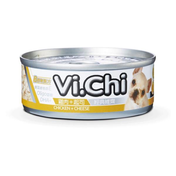 4711942135212經典維齊犬罐-雞肉+起司80G-罐(24/箱)