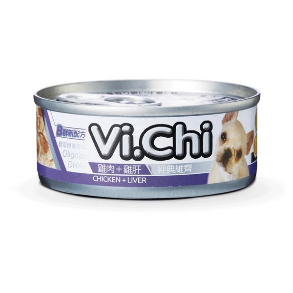 4711942135236經典維齊犬罐-雞肉+肝80G-罐(24/箱)