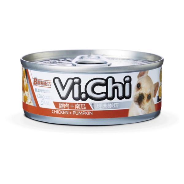 4711942135557經典維齊犬罐-雞肉+南瓜80G-罐(24/箱)