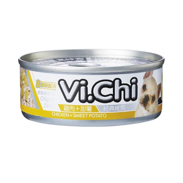 4710901291976經典維齊犬罐-雞肉+甜薯80G-罐(24/箱)