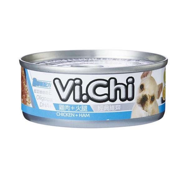 4710901291983經典維齊犬罐-雞肉+火腿80G-罐(24/箱)