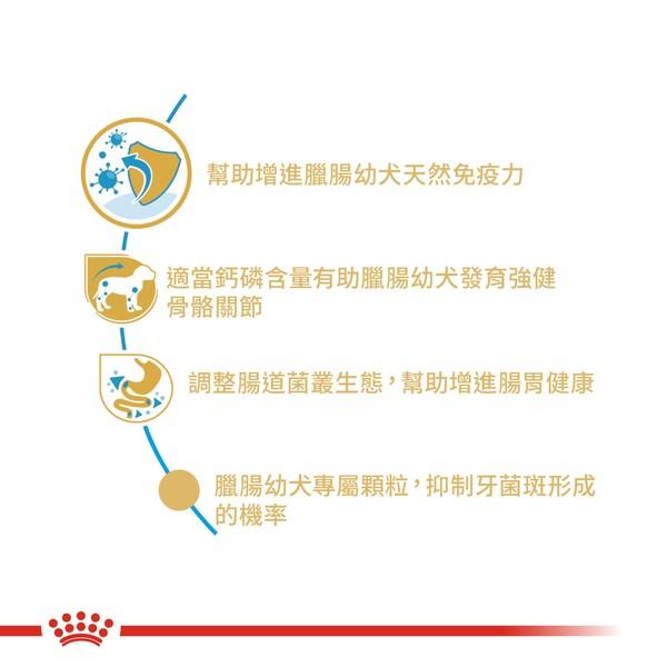 3182550722575皇家(犬)PRDJ30/DSP臘腸幼犬1.5KG