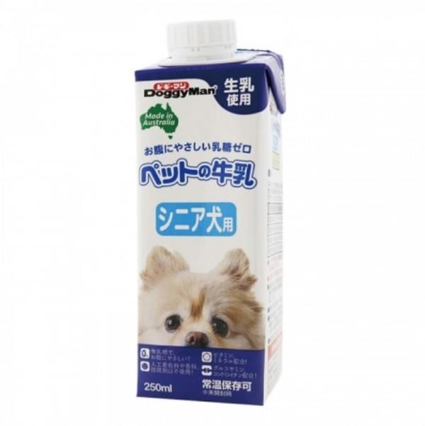 【DoggyMan】犬專用牛奶(老犬) (250ml/1000ml)