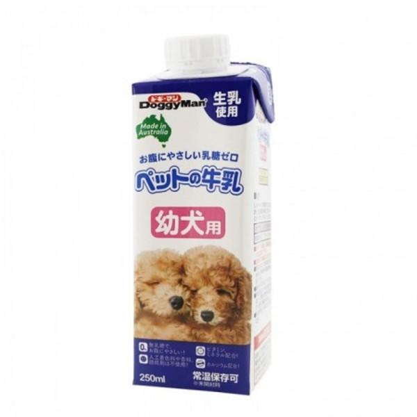 【DoggyMan】犬專用牛奶(幼犬) (250ml/1000ml)